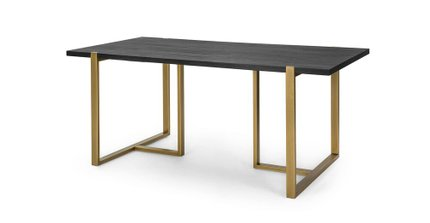 Article Oscuro Contemporary Dining Table Black