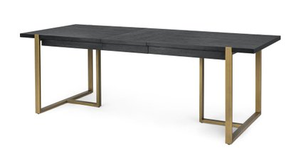 Oscuro Extendable Dining Table Black