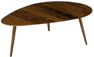 Article Amoeba Mid Century Modern Coffee Table Walnut