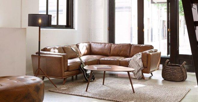Amoeba Mid Century Modern Coffee Table Walnut