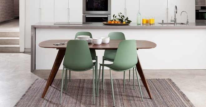 Olea Dining Table Walnut
