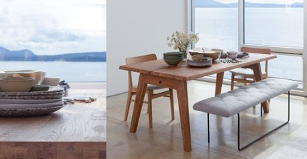 Madera Dining Table For 6 Oak