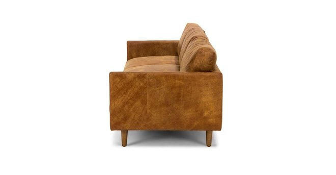 Nirvana Mid-Century Modern Sofa Tan