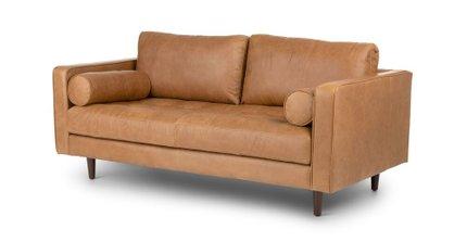 Sven Mid-Century Modern Sofa Tan