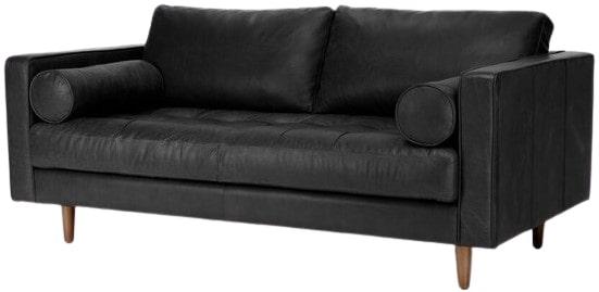 Article Sven Mid-Century Modern Sofa Black
