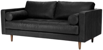 Article Sven Mid-Century Modern Sofa Black