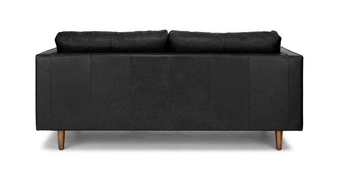 Sven Mid-Century Modern Sofa Black