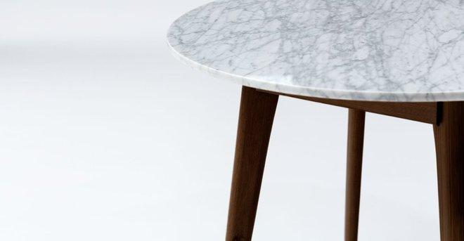 Mara Cafe Table Walnut