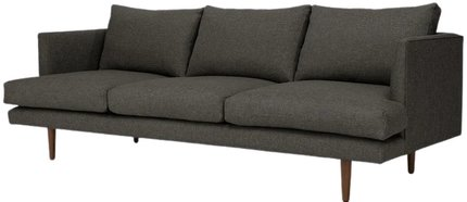 Article Burrard Mid-Century Modern Sofa Graphite Gray