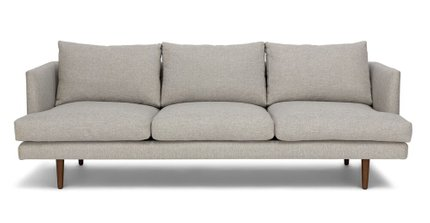 Burrard Mid-Century Modern Sofa Seasalt Gray