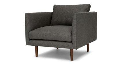 Burrard Lounge Chair Graphite Gray