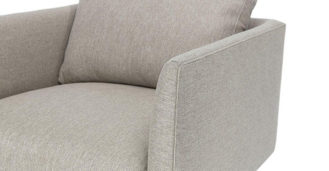 Burrard Lounge Chair Seasalt Gray