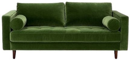"Article Sven Mid-Century Modern 72"" Sofa Grass Green"
