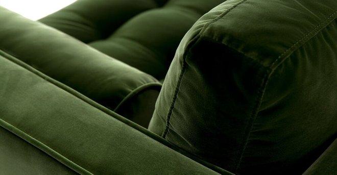 "Sven Mid-Century Modern 72"" Sofa Grass Green"