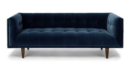 Cirrus Mid-Century Modern Sofa Cascadia Blue