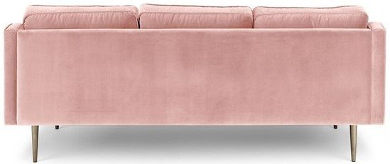 Mirage Contemporary Sofa Blush Pink