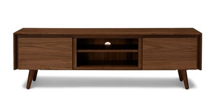 "Seno 63"" TV/Media Unit Walnut"