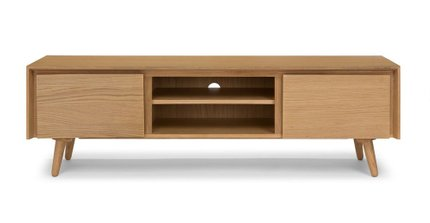 "Seno 63"" TV/Media Unit Oak"