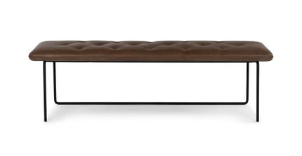 Level Contemporary Bench Bella Brown