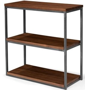"Article Archive Modern 32""H Bookcase Walnut"