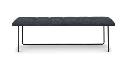 Level Contemporary Bench Bard Gray