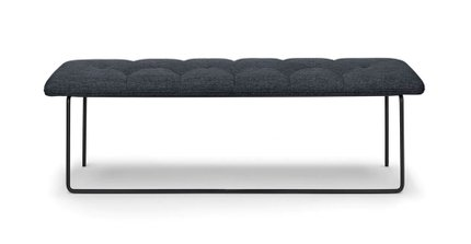 Level Contemporary Bench Bard Gray