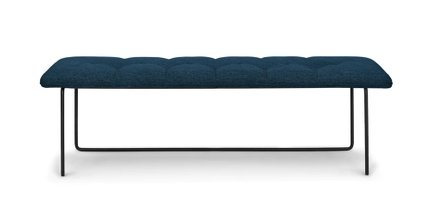 Level Contemporary Bench Twilight Blue