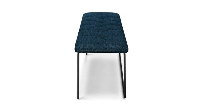 Article Level Contemporary Bench Twilight Blue