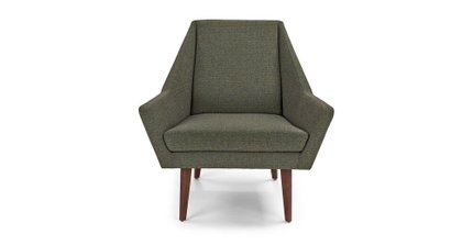 Article Angle Armchair Hemlock Green