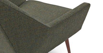 Angle Armchair Hemlock Green