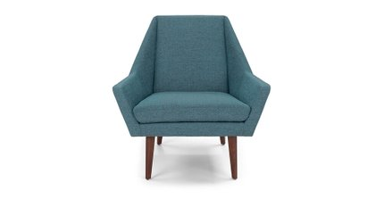 Article Angle Armchair Andaman Blue