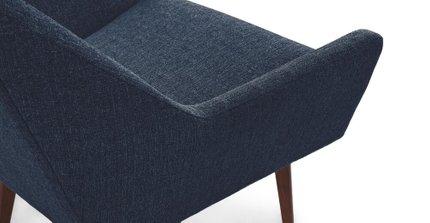 Angle Armchair Denim Blue
