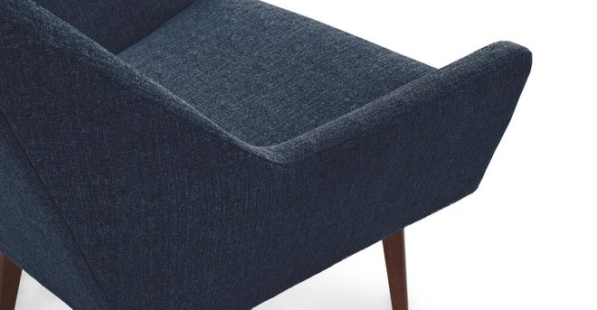 Angle Armchair Denim Blue