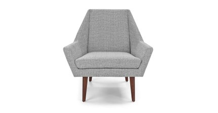 Angle Armchair Speckle Gray