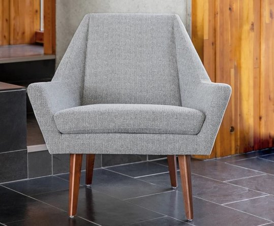 Article Angle Armchair Speckle Gray