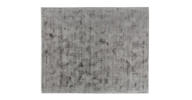 Crush Rug 8 X 10 Platinum Gray