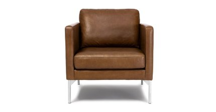 Echo Leather Chair Oxford Tan