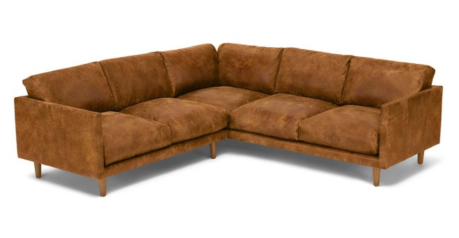 Nirvana Corner Sectional Dakota Tan