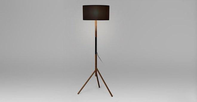 Stilt Floor Lamp Black