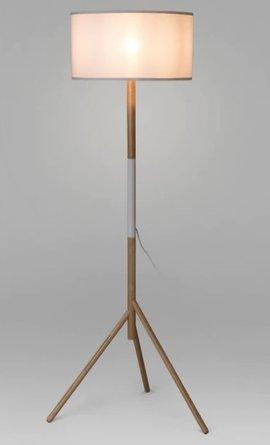Article Stilt Floor Lamp White