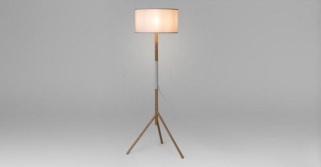 Stilt Floor Lamp White