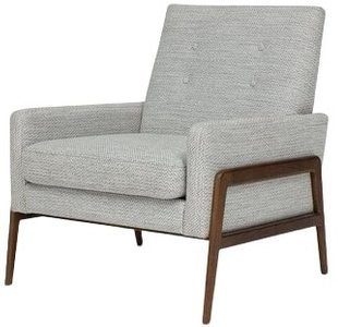 Article Nord Mid Century Modern Armchair Galaxy Gray
