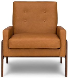 Article Nord Leather Chair Charme Tan