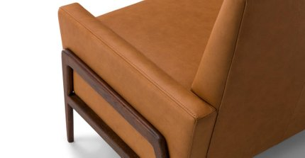 Nord Leather Chair Charme Tan