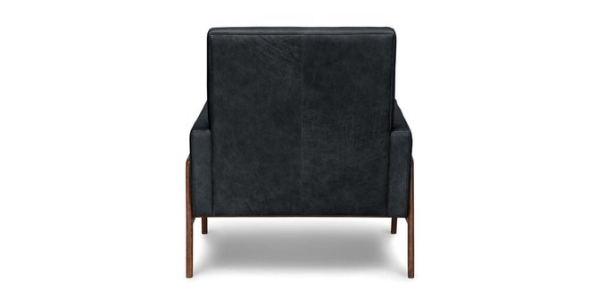 Nord Leather Chair Charme Black