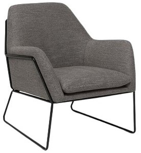 Article Forma Armchair Meteorite Gray