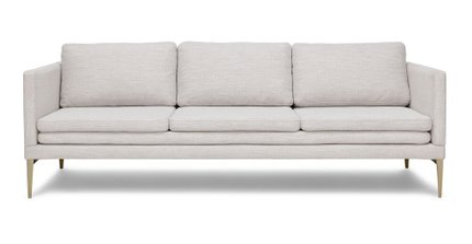 Triplo Contemporary Sofa Milkyway Ivory