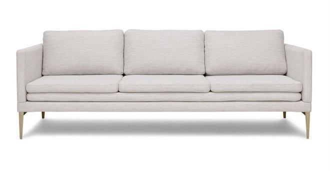 Triplo Contemporary Sofa Milkyway Ivory