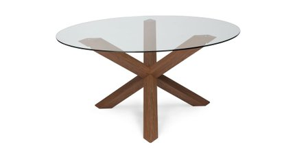 Article Trina Dining Table Walnut