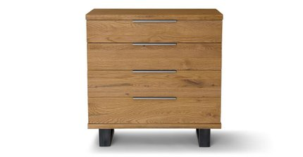 Taiga 4 Drawer Dresser Oak